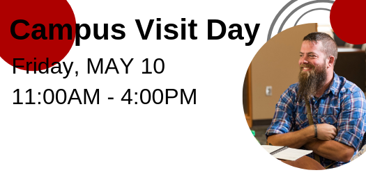 Join us for Campus Visit Day May 10